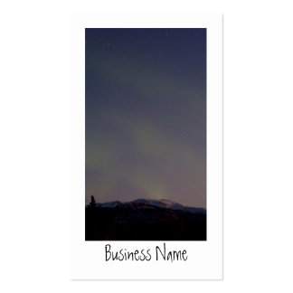 Ghostly Glow Promotional Business Card Templates