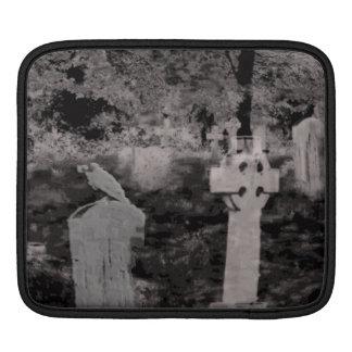 Ghostly Graveyard iPad Sleeve