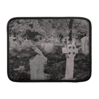 Ghostly Graveyard Macbook Air Sleeve