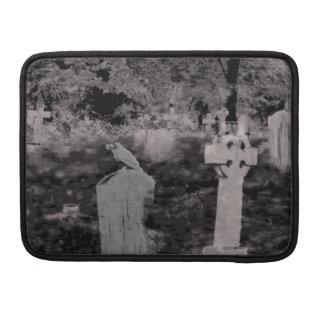 Ghostly Graveyard Macbook Pro Sleeve