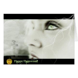Ghostly Greetings Card