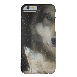 Ghostly Grey Wolves iPhone 6 Case