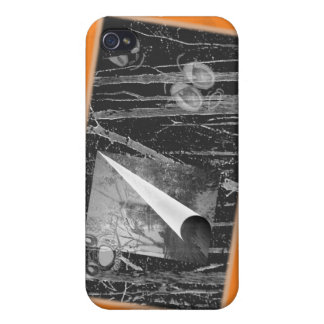 Ghostly Halloween Eyes Cover For iPhone 4
