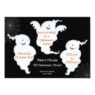 Ghostly Halloween Invitation