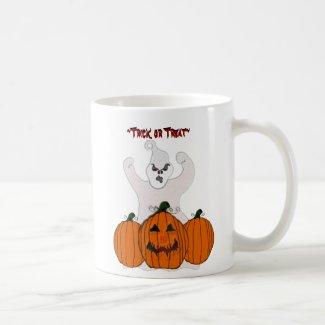 Ghostly Halloween Mug mug