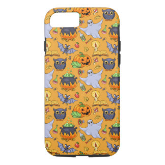 Ghostly Halloween Pattern iPhone 7 Case
