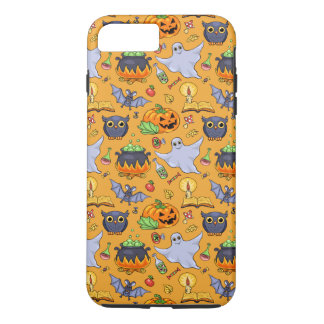 Ghostly Halloween Pattern iPhone 7 Plus Case