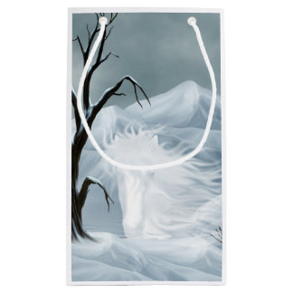 Ghostly horse spirit small gift bag