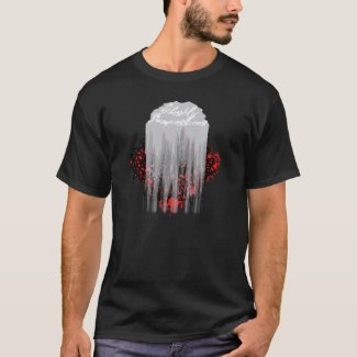 Ghostly Impression Graphic T-Shirt