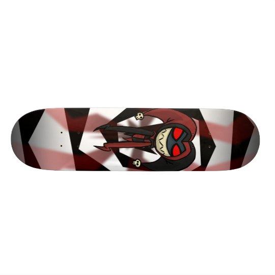 Ghostly Jester Skateboard