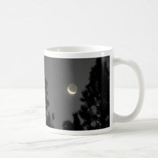 Ghostly Moon Coffee Mug
