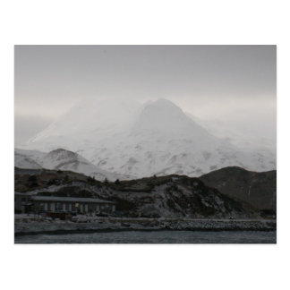 Ghostly Mountains, Unalaska Island Postcard