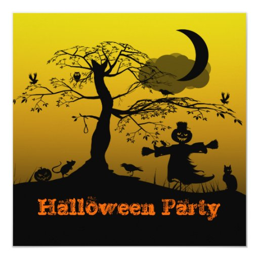 Ghostly Party Invitation