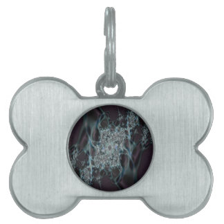 Ghostly Pet ID Tag