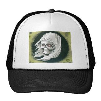 Ghostly Reaper Trucker Hat