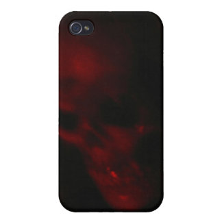 Ghostly Skull iPhone 4 Cover