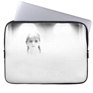 Ghostly spirit girl computer/tablet sleeve