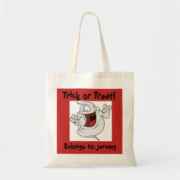 Halloween Themed Ghostly Trick or Treat Bag