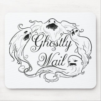 Ghostly Wail Mouse Pad