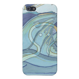 ghostly waves iPhone 5 covers