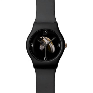 Ghostly White Horse Face Watch