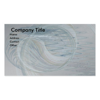 Ghostly Wind On The Water Business Card