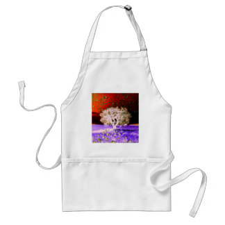 Ghostly Winds Original Digital Photograph Adult Apron