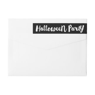Ghostly Wrap Around Label