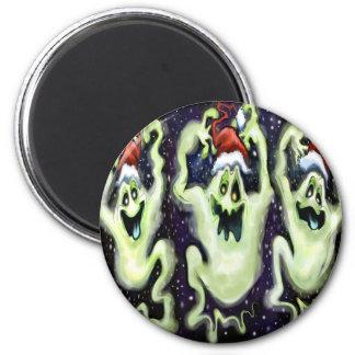 Ghostly Xmas Trio Magnet