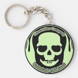 Ghostrider Keyring (Small) Basic Round Button Keychain