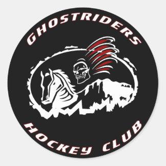 Ghostriders Puck Sticker
