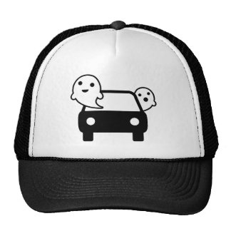 ghostriding trucker hat