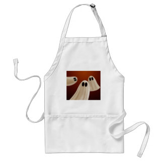 Ghosts Adult Apron