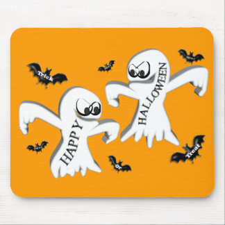Ghosts and Bats Mouse Pad