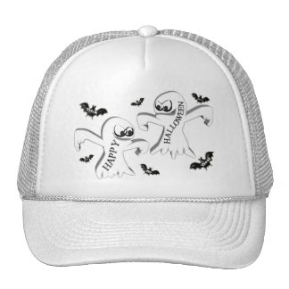 Ghosts and Bats Trucker Hat