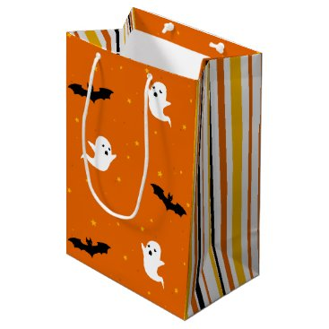 Halloween Themed Ghosts & Bats Halloween Gift Bag