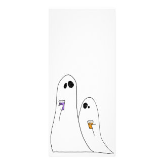 Ghosts Custom Rack Cards