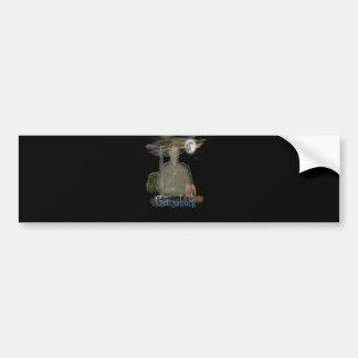 Ghosts designs bumper sticker