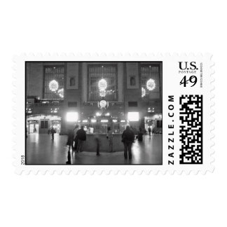 """""""Ghosts In Grand Central"""" Postage Stamp"""