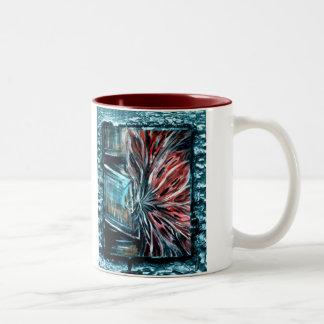Ghosts In The Closet Two-Tone Coffee Mug