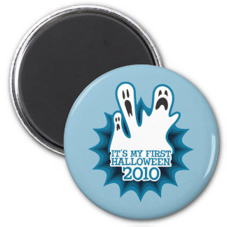 Ghosts It's My First Halloween 2010 Magnet