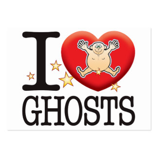 Ghosts Love Man Large Business Cards (Pack Of 100)