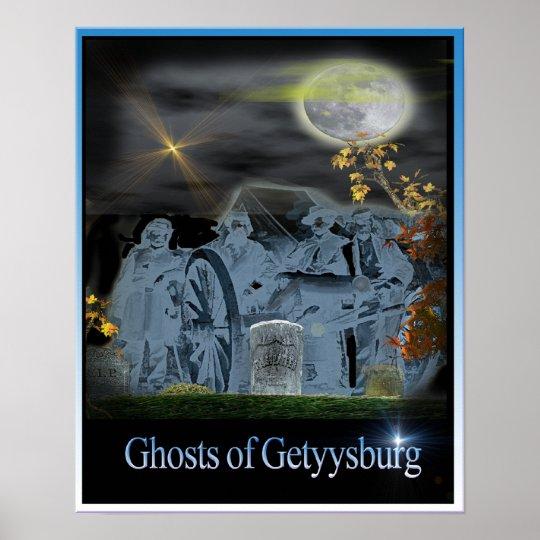 ghosts of gettysburg poster