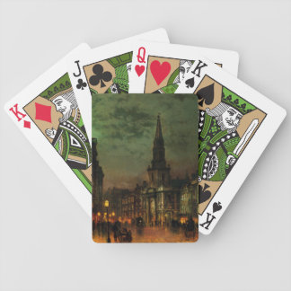 Ghosts of Old Town playing cards