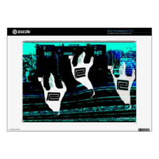 Ghosts of The Northeast Corridor Railroads Acer Chromebook Decal