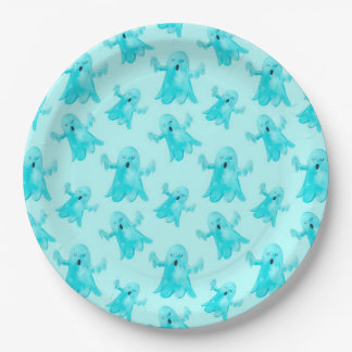 Ghosts Paper Plate