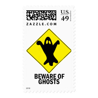 Ghosts Postage Stamp