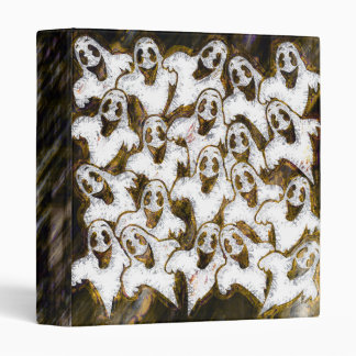"""GHOSTS SAY BOO! 1"""" Ring Binder"""