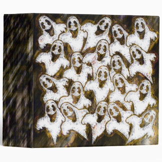 """GHOSTS SAY BOO! 2"""" Ring Binder"""