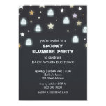 Ghosts Stars Spooky Slumber Party Invite